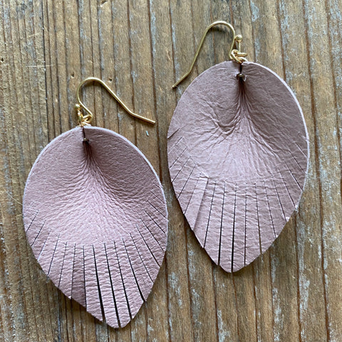 Bella Leather Earrings