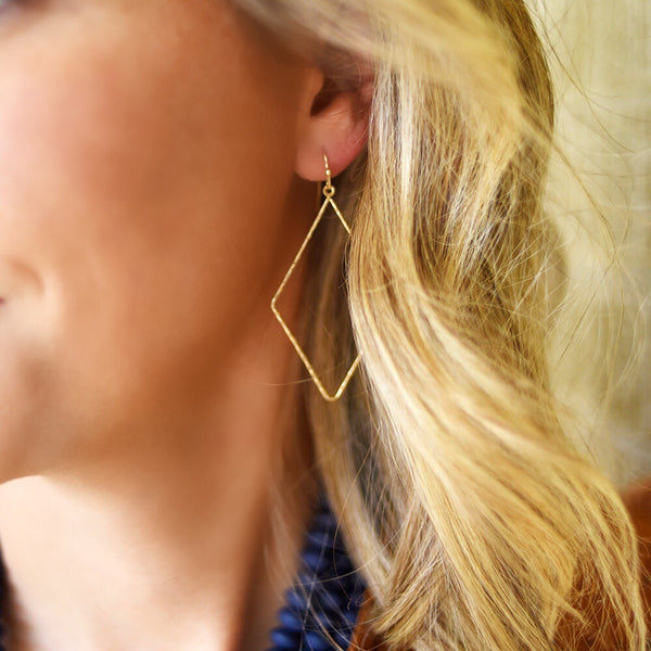 Vail Gold Earrings