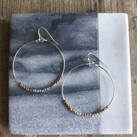 Gold & Silver Kauai Earrings