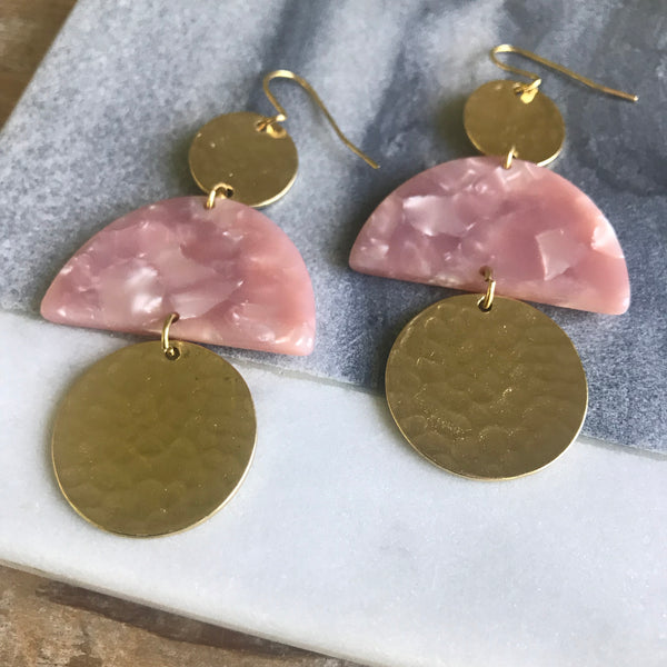 Cashmere Blush Earrings