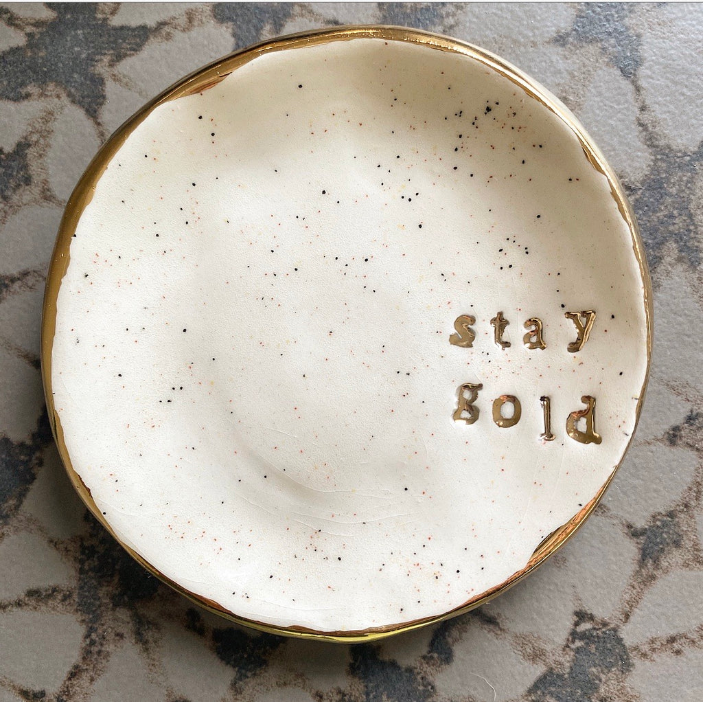 Jewelry Dish - Stay Gold