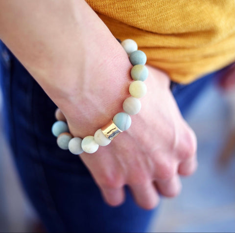 Creamy Cozy Summer Sweater Bracelet
