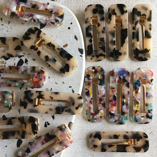 Resin Hairclip