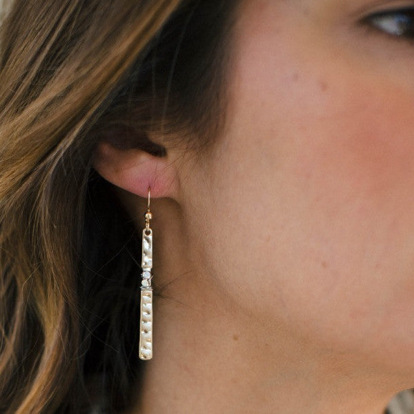 Jetsetter Long Bar Earrings