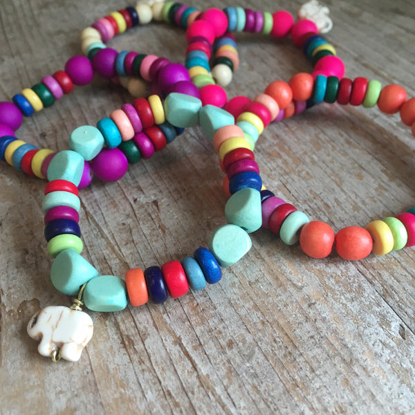 Kid's Lucky Elephant Bracelets