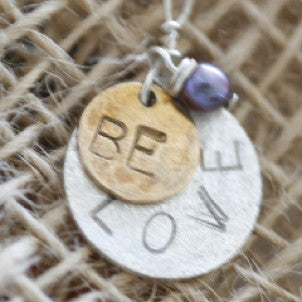 Be Love Disc Necklace