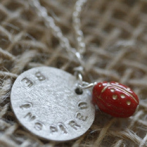 Be Inspired Disc Necklace