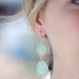 Caribbean Sea Earrings