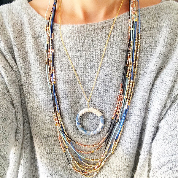 Morning Coffee Necklace