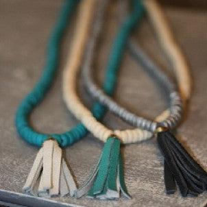 New Tassel Necklaces