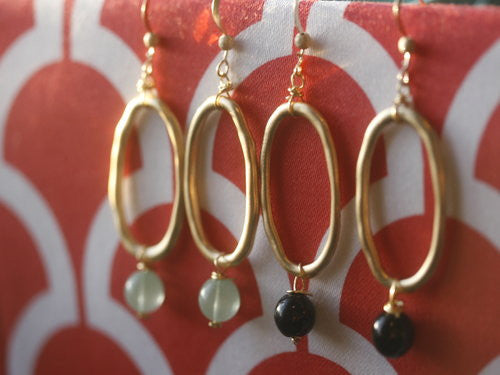 The Monaco Earrings (or necklace)