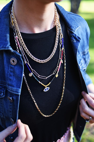 Sienna Multi-Strand Necklace