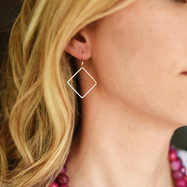 Blank Space Earrings
