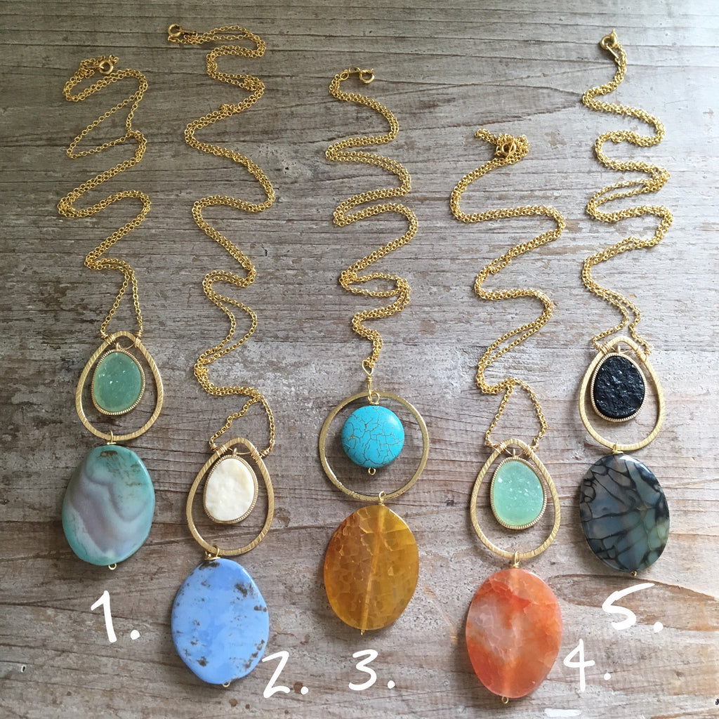 Summer Siesta Necklaces