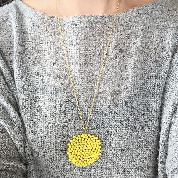 Good Morning Sunshine Pendant Necklace