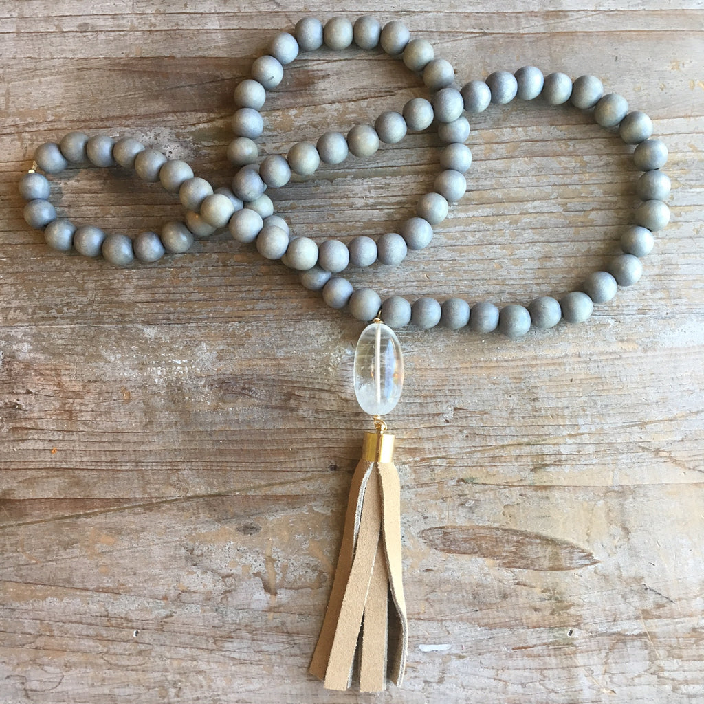 Huntington Beach Tassel Necklace