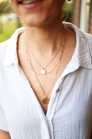 Triple Layer Everything Necklace