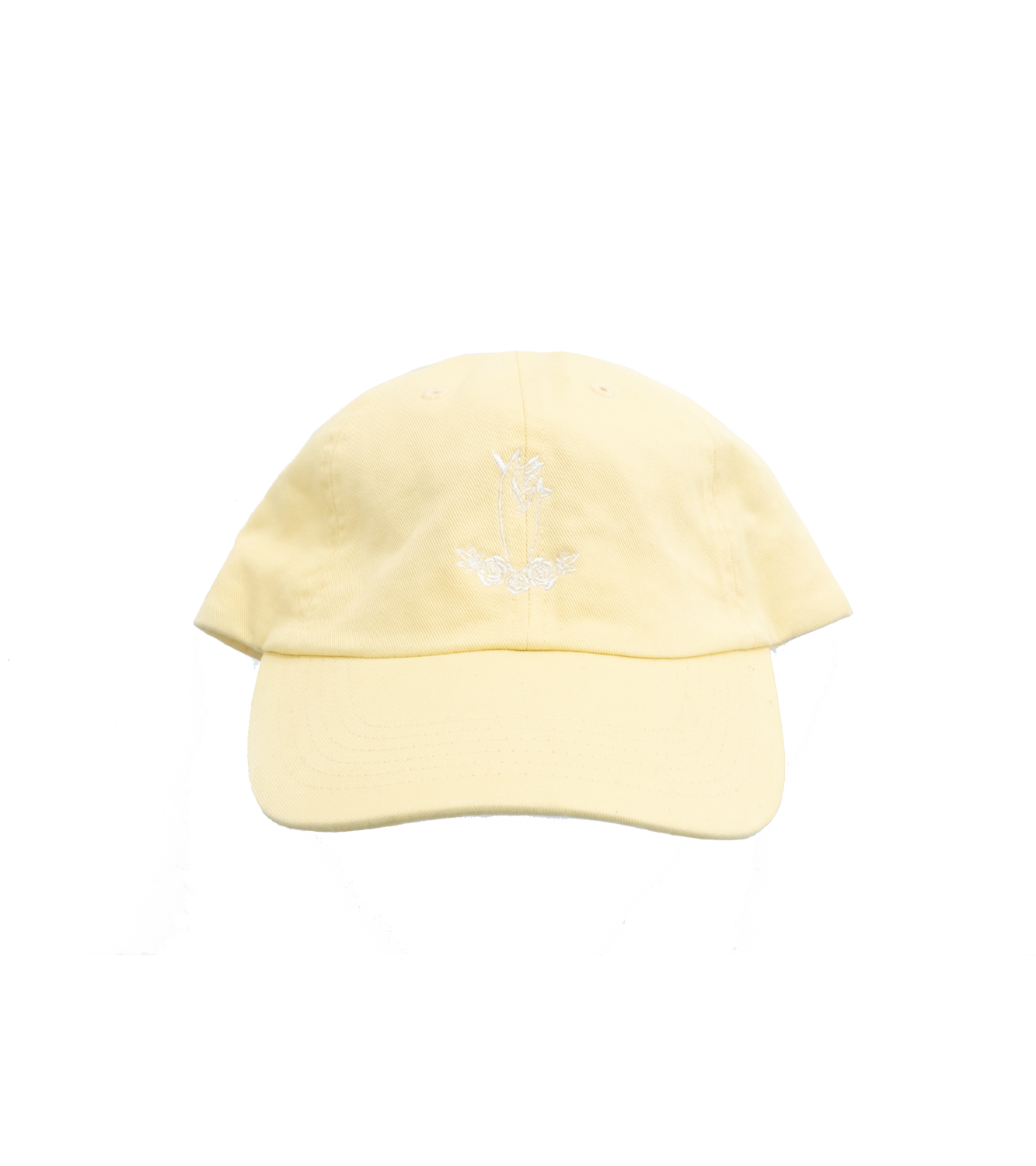logo hat - light yellow