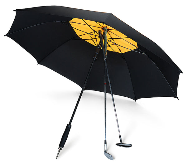 5cb779814042e His sporting equipment is top quality. The Davek Golf umbrella offers a  dual canopy design and wind-defying technology that's been tested in a wind  tunnel ...