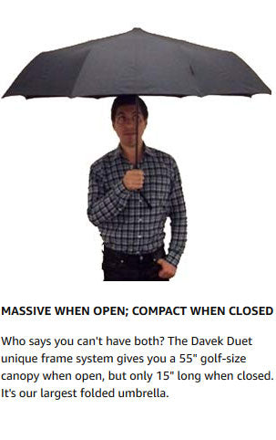 THE DAVEK DUET - Larger size canopy for two