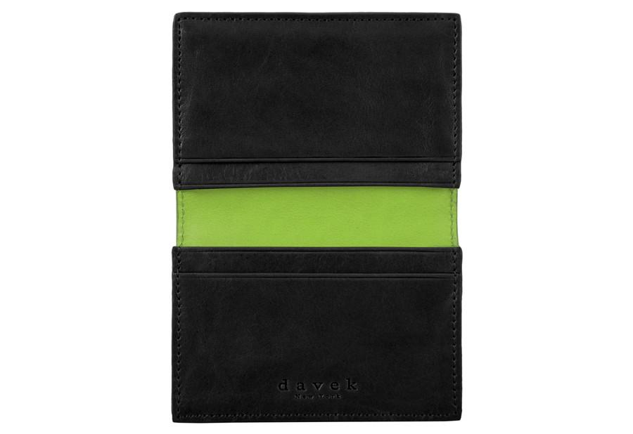 Davek black leather business card holder best business card wallet davek black leather business card holder best business card wallet davek umbrellas colourmoves