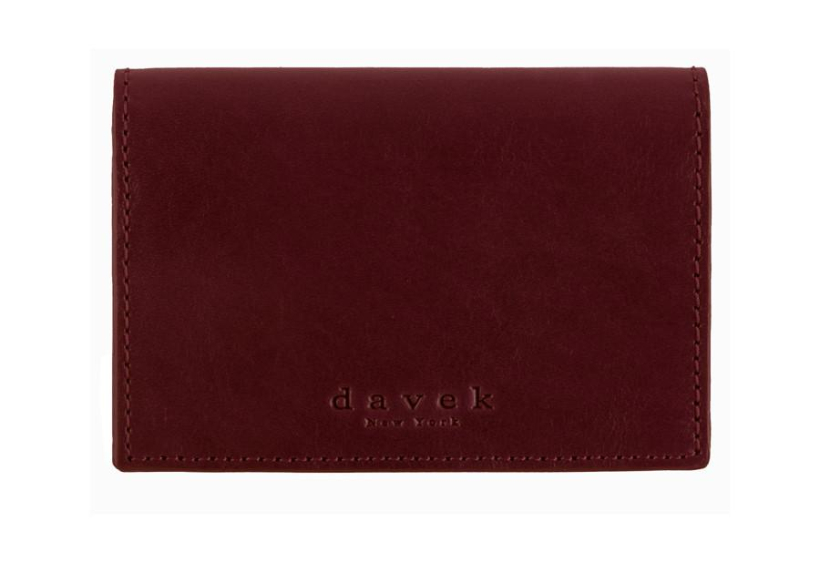 Burgundy leather business card holder leather business card wallet burgundy leather business card holder leather business card wallet davek umbrellas reheart Images