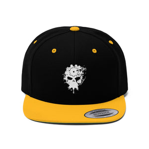 Dirty Machine: Splatter Mechanic Skull Snapback