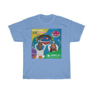 Baby Shark Twerk Edition Album Cover Tee (Adult)