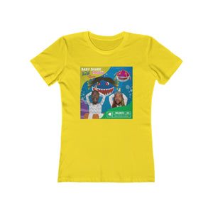 Baby Shark Twerk Edition Boyfriend Tee (Lady's)