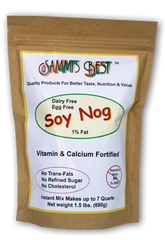 Sammi's Best Soy Nog 1.5 lb Resealable Bag