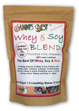 Sammi's Best Whey & Soy 50/50 Blend (1.5 lb or 10 lb Mylar Bag)