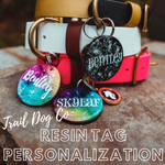 Resin Dog Tag Personalization