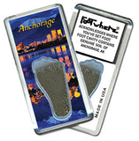 Anchorage FootWhere® Souvenir Fridge Magnet. Made in USA - FootWhere® Souvenirs