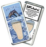 Destin, FL FootWhere® Souvenir Fridge Magnet. Made in USA - FootWhere® Souvenirs