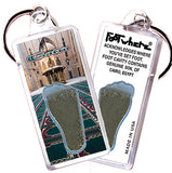 Cairo, Egypt FootWhere® Souvenir Keychain. Made in USA - FootWhere® Souvenirs