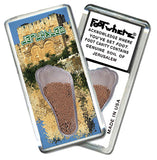 Jerusalem FootWhere® Souvenir Fridge Magnet. Made in USA - FootWhere® Souvenirs