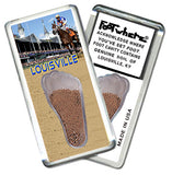 Louisville FootWhere® Souvenir Fridge Magnet. Made in USA - FootWhere® Souvenirs