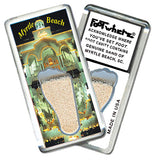 Myrtle Beach FootWhere® Souvenir Magnet. Made in USA - FootWhere® Souvenirs