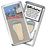 Ocean City FootWhere® Souvenir Magnet. Made in USA - FootWhere® Souvenirs