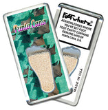 Punta Cana FootWhere® Souvenir Fridge Magnet. Made in USA - FootWhere® Souvenirs