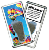 Phoenix FootWhere® Souvenir Magnet. Made in USA - FootWhere® Souvenirs