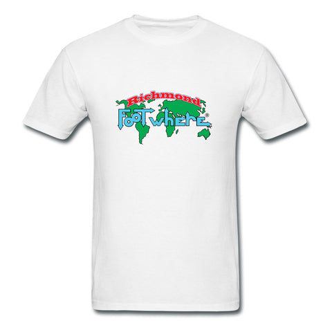 Richmond FootWhere® Souvenir  T-Shirt - FootWhere® Souvenirs