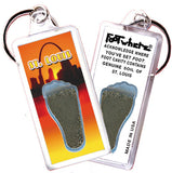 Saint Louis FootWhere® Souvenir Keychain. Made in USA - FootWhere® Souvenirs