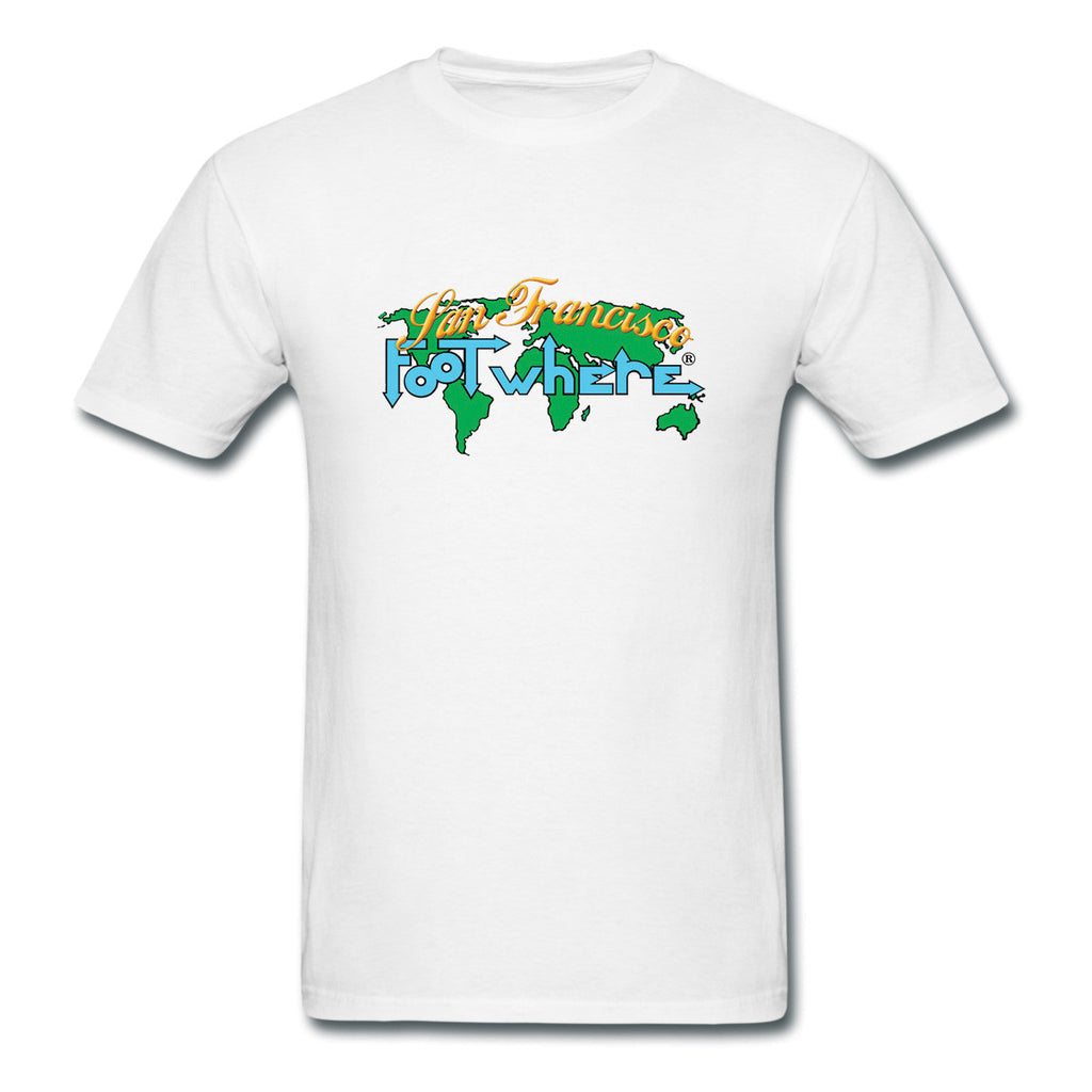 San Francisco FootWhere® Souvenir  T-Shirt