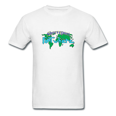 Shreveport FootWhere® Souvenir T-Shirt