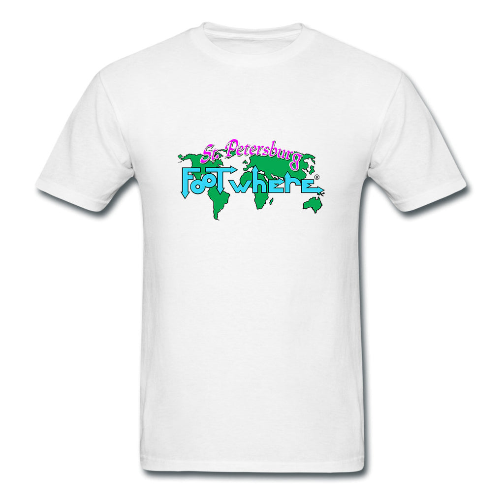 St. Petersburg FootWhere® Souvenir  T-Shirt