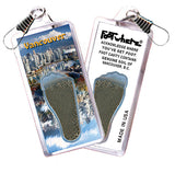 Vancouver FootWhere® Souvenir Zipper-Pull. Made in USA - FootWhere® Souvenirs