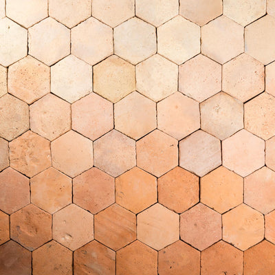 MALINA HEXAGON TERRACOTTA BY GatherCo