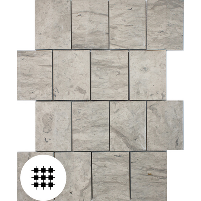 3D QUAYSTONE WARM GREY HONED