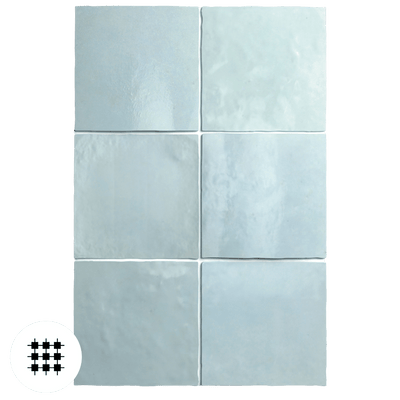 AQUA GLOSS ARTEMIS WALL TILE 132X132X10MM